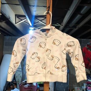 Hello Kitty Zip Up Sweatshirt